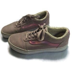 Vans Girls Pink Sneakers size 3 Youth Violet  Shoe